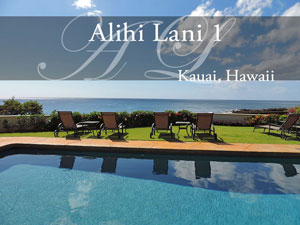Alihi Lani 1, vacation rental, Kauai HI