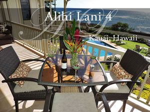 Alihi Lani 4, vacation rental, Kauai HI