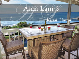 Alihi Lani 5, vacation rental, Kauai HI