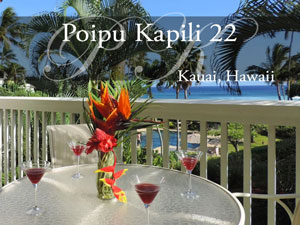 Poipu Kapili 22, vacation rental, Kauai