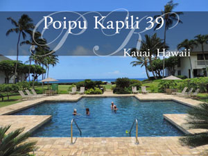 Poipu Kapili 39, vacation rental, Kauai