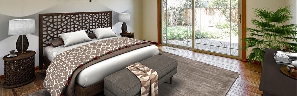 733 Saranac Sunnyvale Master Bedroom